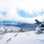雪山シーズンの安達太良山で登山してきた