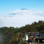 箱根の金時山で初めてトレイルランニングをやってみた