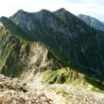【北アルプス】白馬岳から不帰ノ嶮を通って唐松岳へ行ってた【後半】