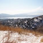 山中湖から石割山・大平山を歩いてきました