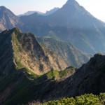 【南八ヶ岳縦走】編笠山から赤岳、硫黄岳を2泊3日のテント泊で