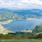 小熊山ハイキングコースと木崎湖を歩いてきた